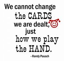 cards we are dealt 2